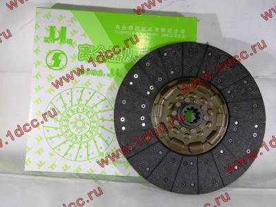 Диск сцепления ведомый 420 мм H2/H3 HOWO (ХОВО) WG1560161130 фото 1 Чита