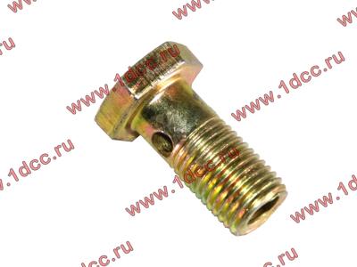 Болт пустотелый М12х1,25 (штуцер топливный) H HOWO (ХОВО) 90003962607 фото 1 Чита