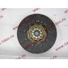 Диск сцепления ведомый 420 мм H2/H3 HOWO (ХОВО) WG1560161130 фото 2 Чита