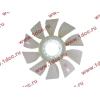 Вентилятор радиатора (на гидромуфту) без кольца d-590 H HOWO (ХОВО) 61500060131 фото 3 Чита
