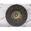 Диск сцепления ведомый 420 мм H2/H3 HOWO (ХОВО) WG1560161130 фото 4 Чита